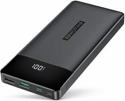 RAVPower Portable Charger, PD 3.0 15000mAh Power Bank, 30W H