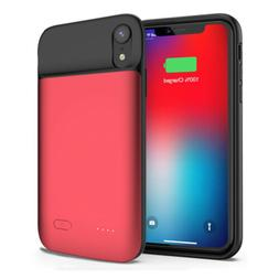 5000mAh For iPhone XR Portable Power Bank Pack Cover Magnet