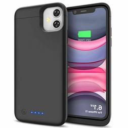 Battery Case For iPhone 11 Charging Case Power Bank Backup P