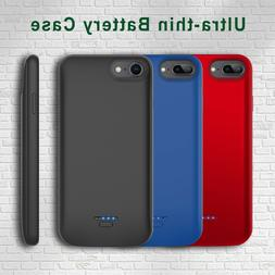 For iPhone 6/7/8 Plus Battery Case External Power Bank Charg