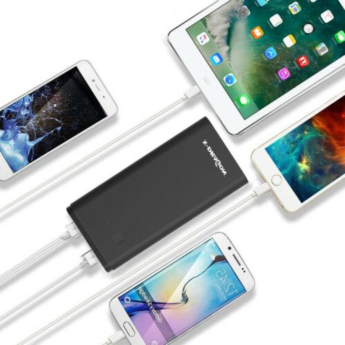 Portable Bank 3 Battery Charger Phones