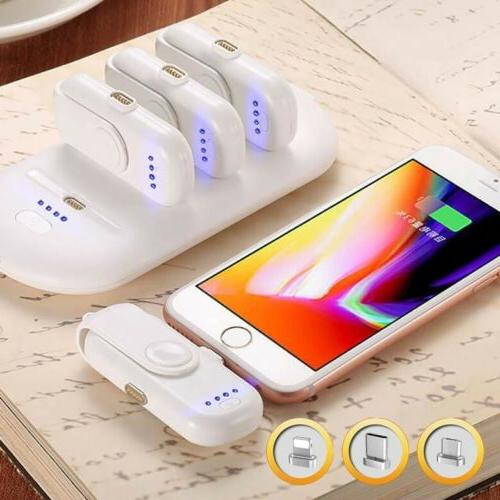 portable fingerpow power bank charger for iphone