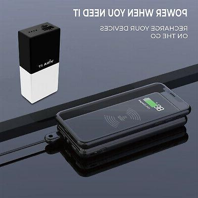 Power Bank Portable Battery Pack Mobile Phone Camping Outdoor