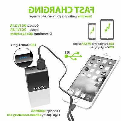 Power Bank Battery Pack Charger Mobile Phone Travel Camping