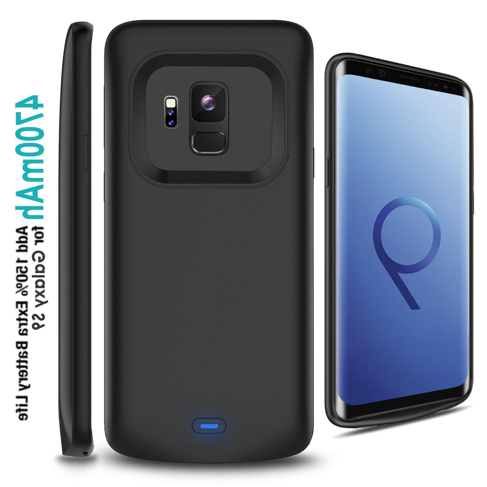 shockproof battery charging case portable power bank
