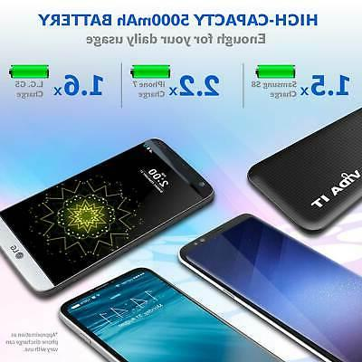 Power Bank Battery USB Charger For Samsung Galaxy S8 S9 S10 +Plus