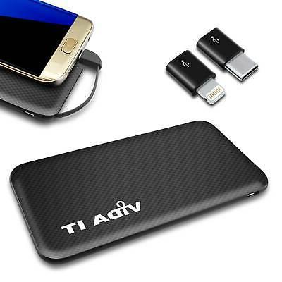 twin dual usb battery pack charger