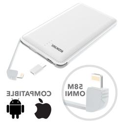Kokiri Portable Power Bank Battery Charger for iPhone and An