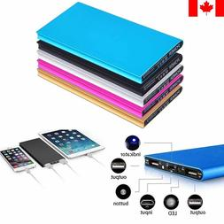 Ultra Thin External Portable Power Bank/Battery Charger for